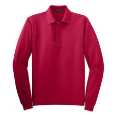 Port Authority® Long Sleeve Silk Touch™ Polo